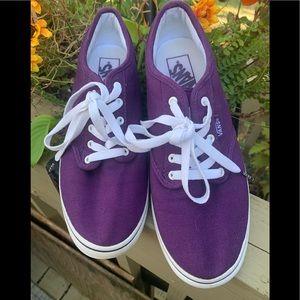 Vans Purple are Women Sz 8